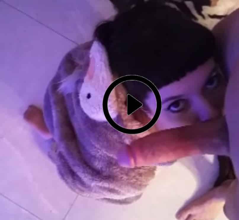 Eddie in Koala Onesie getting facefucked