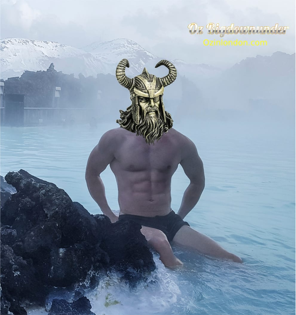 zeus  at blue lagoon spa iceland